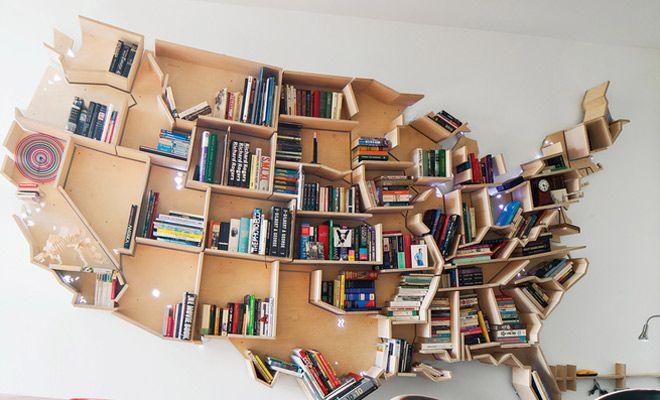 originele boekenkast