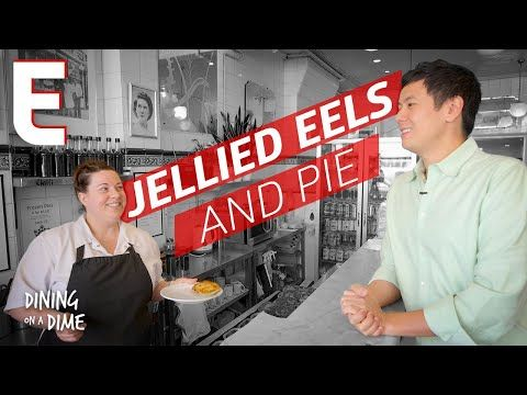 Jellied Eels Are An Acquired Taste in London's East End — Dining on a Dime - YouTube