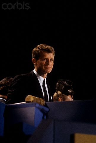 Robert F. Kennedy speaking at the 1964 Democratic Convention