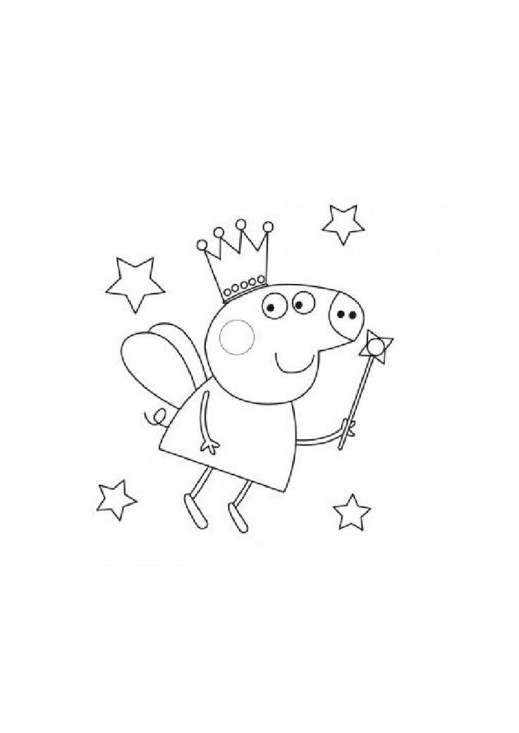 12 Best Peppa Pig Disegni Da Colorare Gratis Per Bambini
