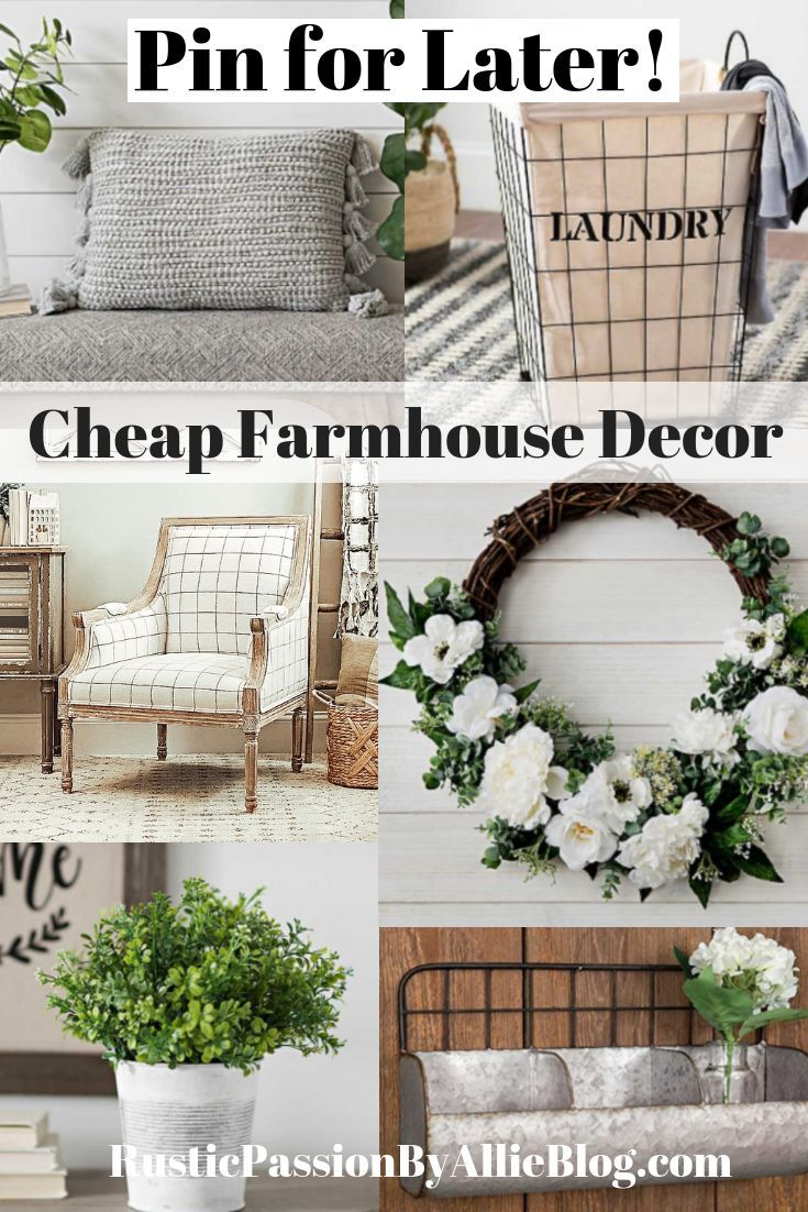 Find Out Exactly Where To Buy Cheap Home Decor Online Cheap Farmhouse Decor Modern Farmhouse Decor Country House Decor