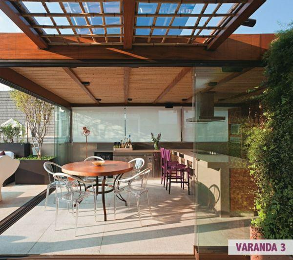 Die besten 25+ Terrassengestaltung ideen beispiele Ideen auf - moderne dachterrasse gestalten ein gruner zufluchtsort grosstadt