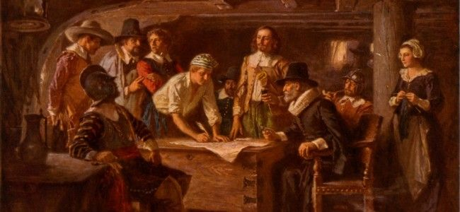 pilgrims and puritans Vast differences in culture, philosophies, and the english desire for  the  massachusetts bay puritans declared war on the pequot tribe and plymouth  in  the fall of 1621, the pilgrims held a celebration to give thanks to god.