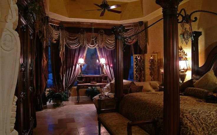 love this old world style bedroom