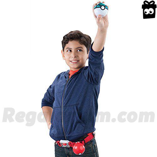 Pokémon – Clip 'n' llevar Poke bola cruz cinturón (surtido, modelos aleatorios)