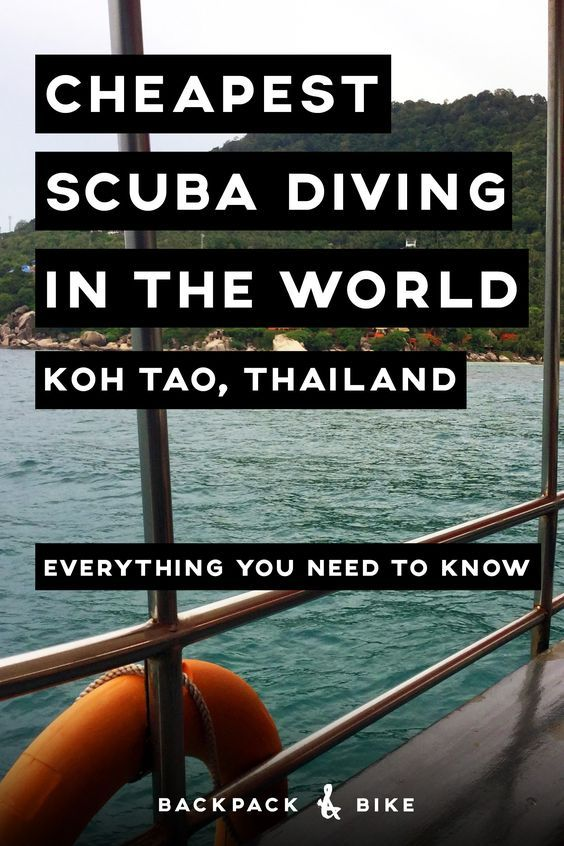 Koh Tao, Thailand is the cheapest place in the world to get your scuba diving license, but is it worth it? What does it cost? Let us answer all your diving questions.