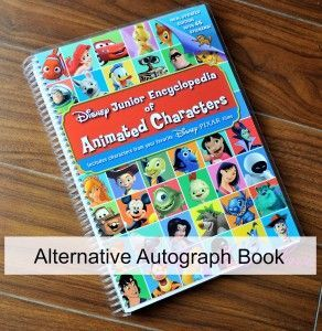 Idea: use the Disney Jr Encyclopedia of Animated Characters as an autograph book