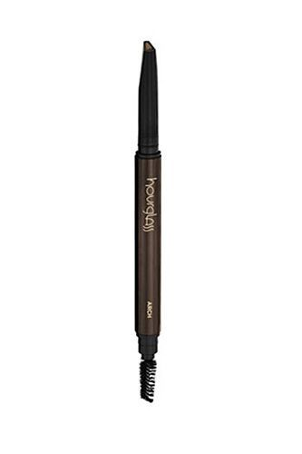 "29 Beauty Products We Won't Live Without  #refinery29  http://www.refinery29.com/63936#slide-12  ""I've gone through about three of these Hourglass retractable eyebrow pencils! They are truly the BEST. It's a good mix between a waxy pencil and a powder. I love the shape of the applicator — it's wide but thin at the same time, which is great for precision and efficiency. There's also a spoolie at the other end, so you don't have to worry about having another tool take up space in your makeup…"