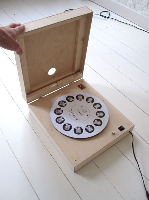 Pieterjan Grandry - device which plays an animated gif