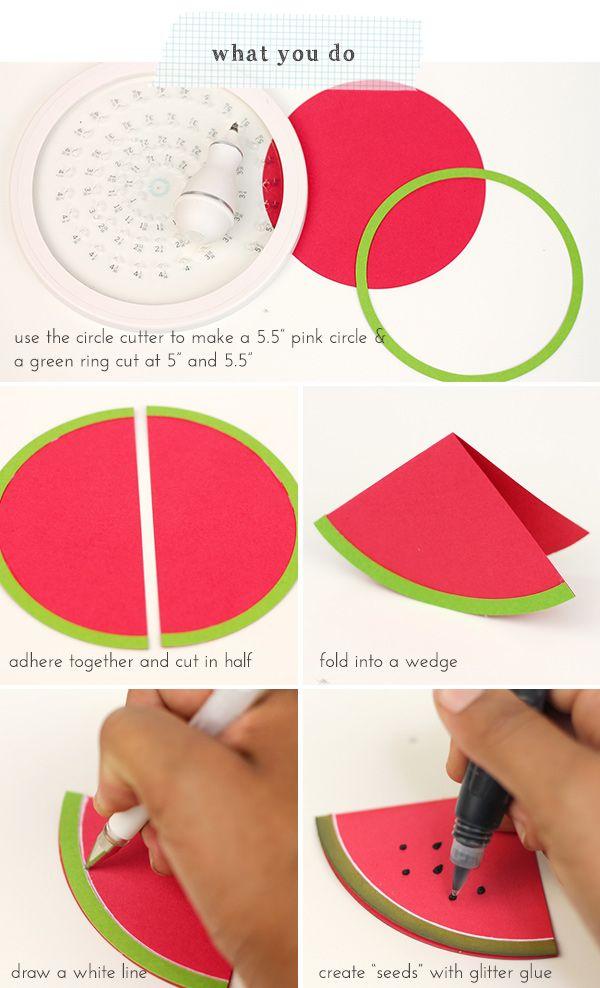 37 Best Watermelon Cards Images On Pinterest