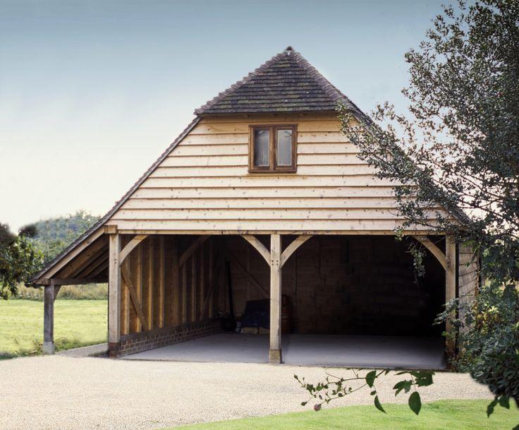 Kwalitatief hoogstaande eikenhouten gebouwen Garage