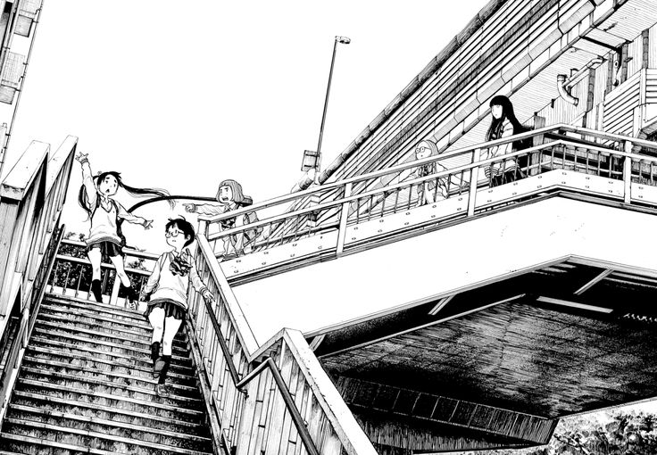 #dead dead demon's dededededestruction #asano inio