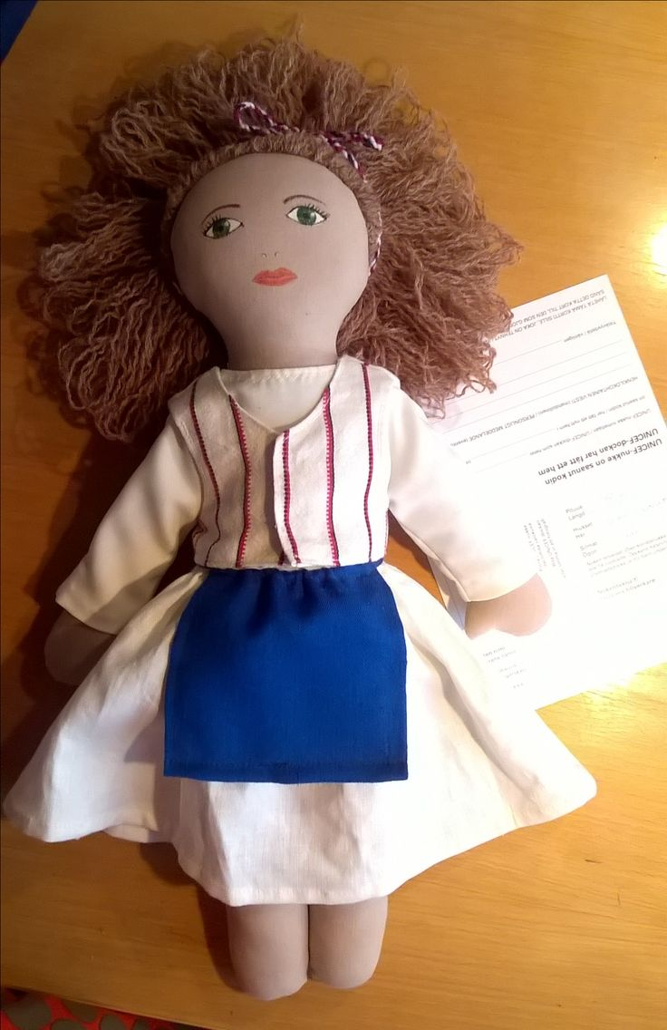 Lilja Unicef-nukke