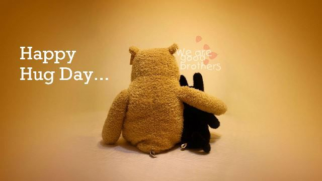 Hug day Wallpaper Download