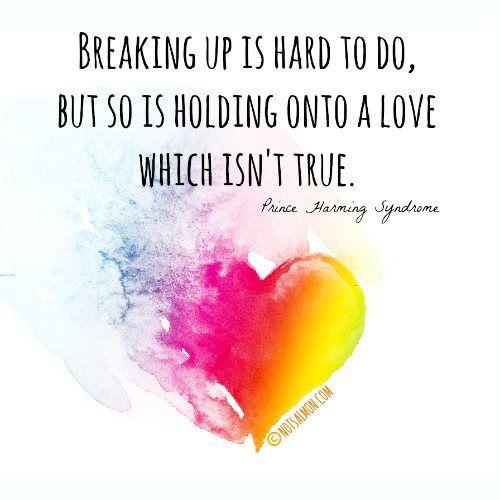 broke up relationship poems hard