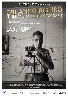 """""""Orlando Ribeiro: Itinerâncias de um Geógrafo"""" é um documentário sobre o mais importante geógrafo português   de Manuel Carvalho Gomes e António João Saraiva - 2011"""