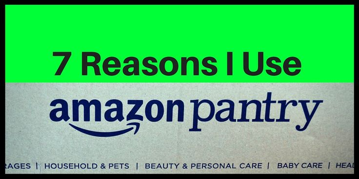 It is so exciting to open up my Prime Pantry box. Here are 7 reasons why I use Prime Pantry.