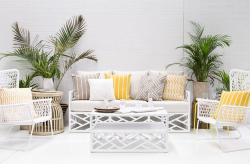 White Summer Sofa Package