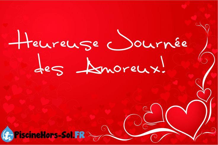 Joyeuse Saint-Valentin! Depuis Piscinehorssol, on vous souhaite un bon 14 fevrier. Bonne fête des amoreux! http://www.piscinehors-sol.fr/