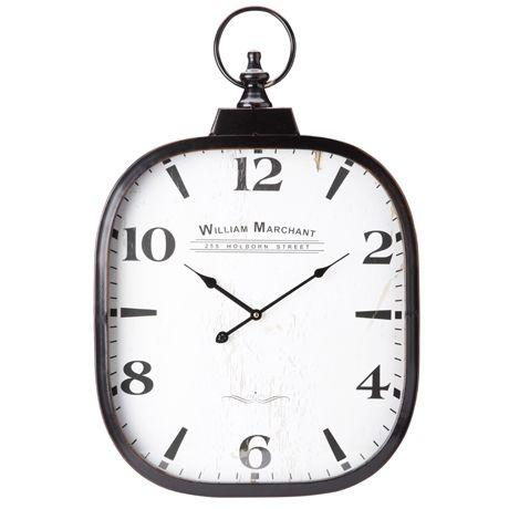 Merchant Fob Clock 40x70cm | Freedom Furniture and Homewares