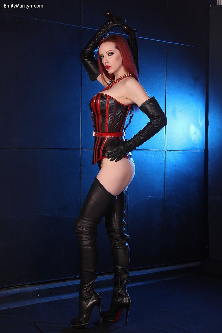Gloves redhead leather xxx