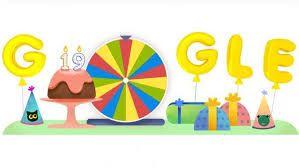 Google festeja sus 19 años,junto a sus usuarios con un juego.: La historia del buscador más famosos que, con motivo de su aniversario,…
