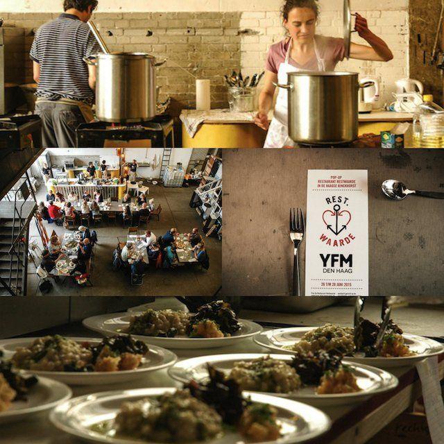 Pop-up restaurant Restwaarde, gerechten van restproducten en bijvangst vissers