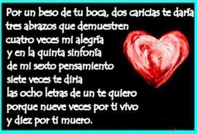 Versos+Cortos+Para+Dedicar+a+Mi+Novia+En+San+Valentín