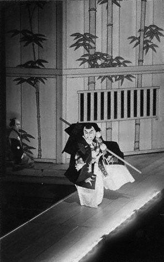 Kabuki  on the Hanamichi