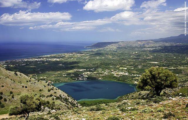 ΚΡΗΤΗ-channel: Η στοιχειωμένη λίμνη της Κρήτης | Τι λέει ο μύθος ...