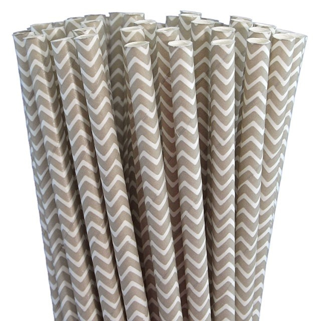 Greenmunch - Paper Straws - Grey Chevron, $4.50 (http://www.greenmunch.ca/paper-straws/standard-length/chevron/paper-straws-grey-chevron/)