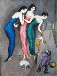 """""""Dreams and fantasies"""" 1922  Nils von Dardel"""