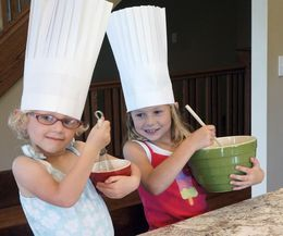 How to Make a Paper Chef Hat