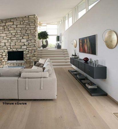 Frans eiken houten planken vloer