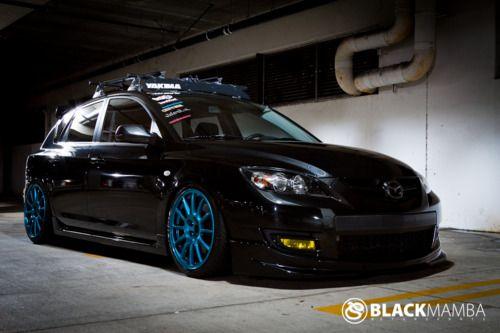 Black Mamba Mazdaspeed3 Hatchback... SO SEXY!