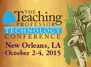 Teaching Professor Technology Conference 2015