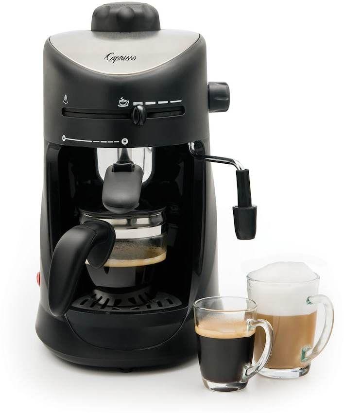 Capresso 4-Cup Espresso & Cappuccino Machine.   #shopping #deals #ad #home