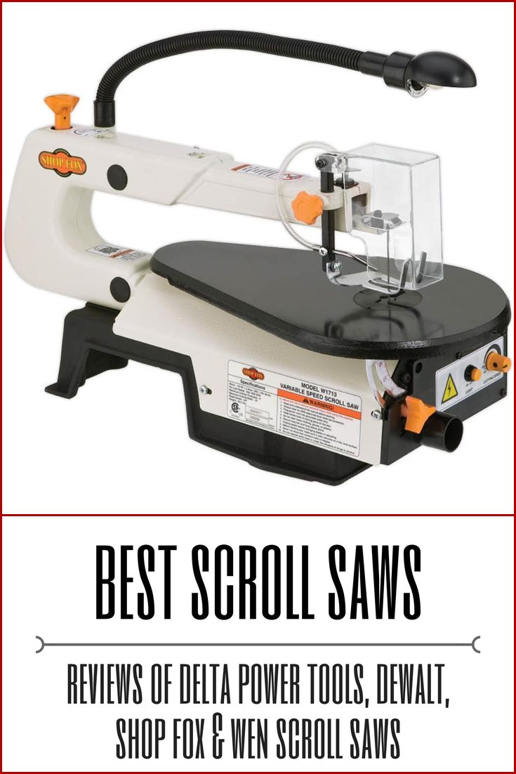 Looking for the best scroll saw? Check out our reviews of the four best scroll saws.