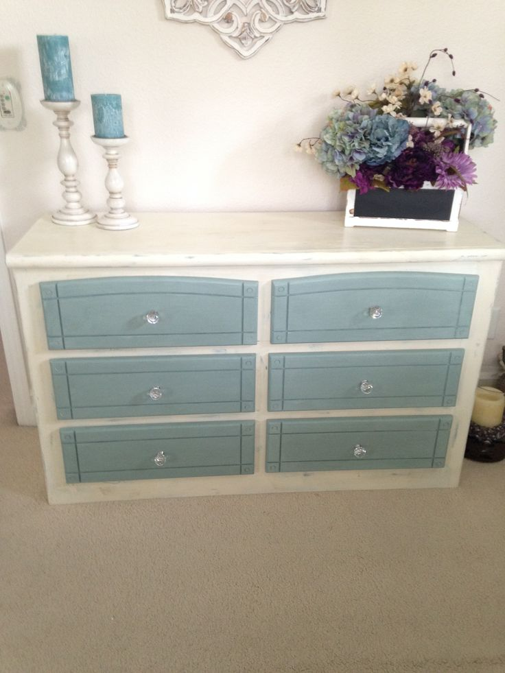 Chalk Painted Furniture With Annie Sloan Paint Duck Egg