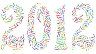 Make a word cloud with all of the names of the students for 8th grade promotion (or high school graduation): Ten Thoughtful and Inexpensive Graduation Gifts for Your Students #edchat