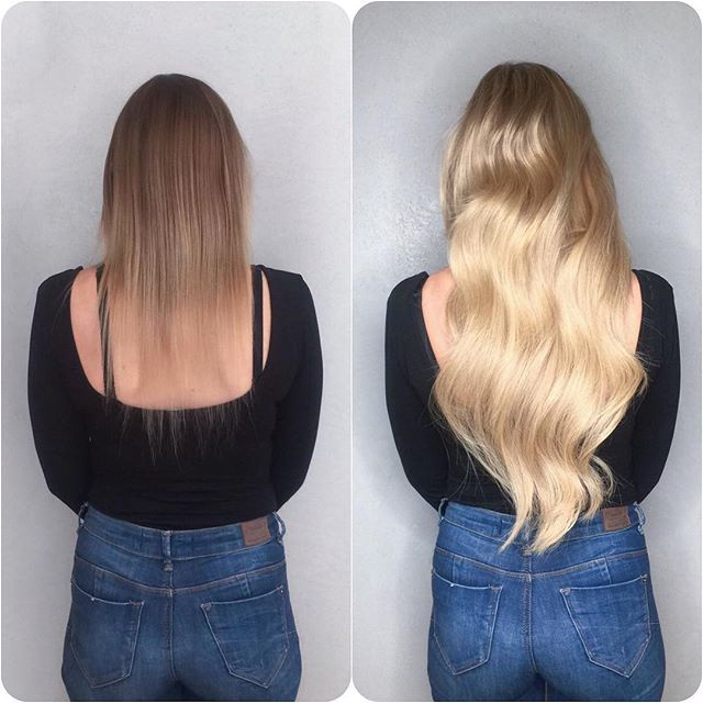 Beautiful Transformation from our #vixenandblushcentral #salon whoop whoop! 😜 #vixenandblush #hairextensions #hair #extensions #longhair #longhairdontcare #shorttolong #tranformation #transformationtuesday #beforeandafter #colourandextensions #hairextensionslondon #hairextensionspecialist #hairlondon #londonhair