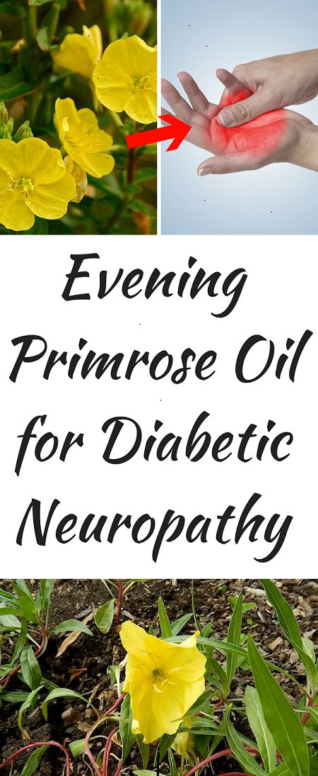Evening Primrose Oil for Diabetic Peripheral #Neuropathy