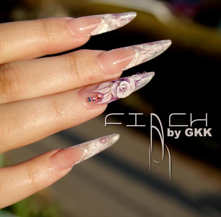 Finch (new nailshape, created by me)