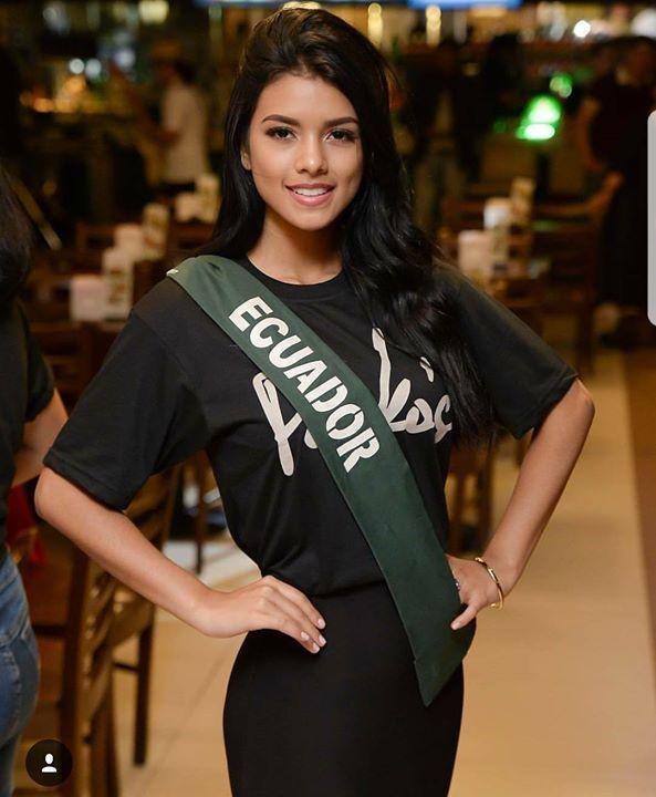 Mañana sábado 4 de noviembre a las 07:00 am está mujer estará compitiendo por traernos el back to back. La finala pasarán por la página de Facebook del certamen. Lessie Giler Miss Earth Ecuador 2017.
