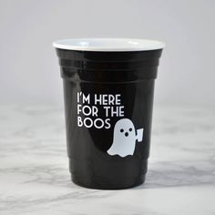 Funny Halloween Ghost Cup