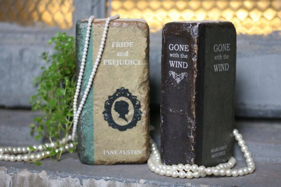 Hey, I found this really awesome Etsy listing at https://www.etsy.com/listing/171648575/bookends-repurposed-bricks-to-look-like