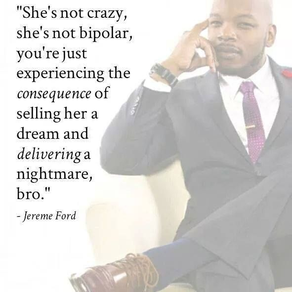 I love This! Men who call a woman crazy when she calls them out on their crap are weak asses who can't accept responsibility for their actions.