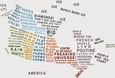 This Hilarious Map Describes Canada's Stereotypes By Province And Territory