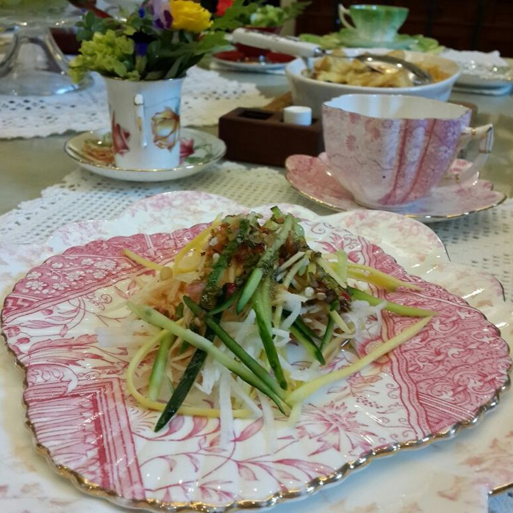 Lunchtime  Wileman plate & teacup