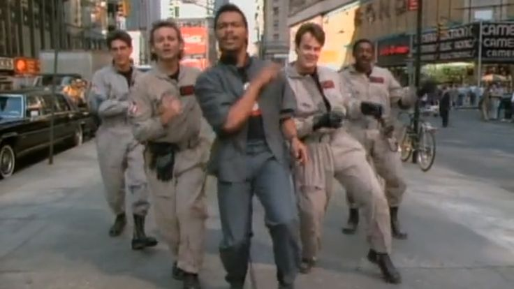 Why did the 'Ghostbusters' music video feature so many random cameos?